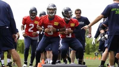 Entrenamientos en Seattle (AP-NFL).
