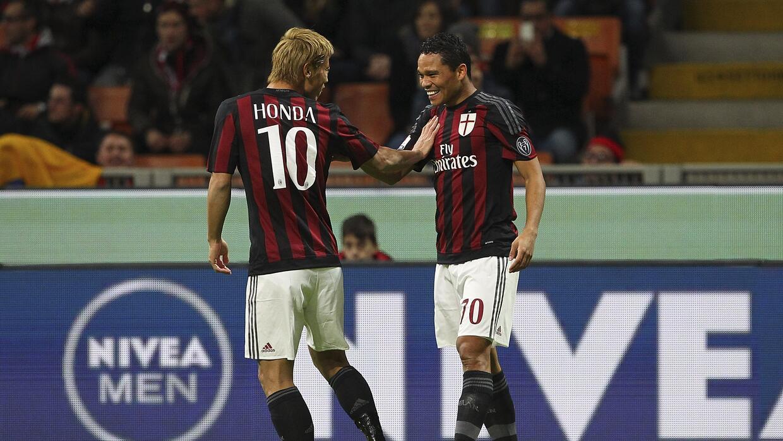 Carlos Bacca abrió el marcador en favor del Milan