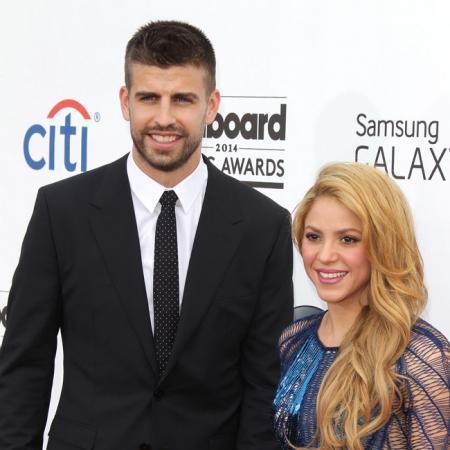 Gerard Piqué junto a su mujer Shakira