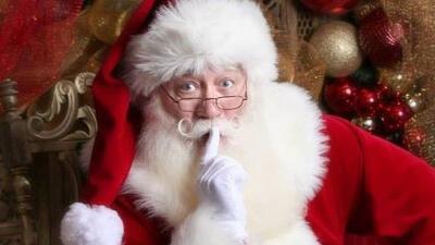 Eric Schmitt-Matzen, el Santa Claus que visitó al niño enfermo, en una i...