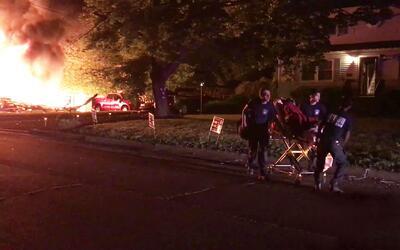 Explosión en una casa de Nueva Jersey deja a un hombre con quemaduras gr...