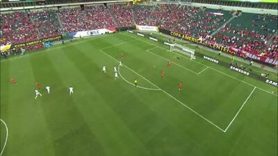 Los 6 goles de Chile vs Panamá con el 'Spider Cam'