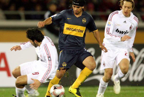 La cosa comenzó a cambiar en el 2007. La final la disputaron el Milan de...