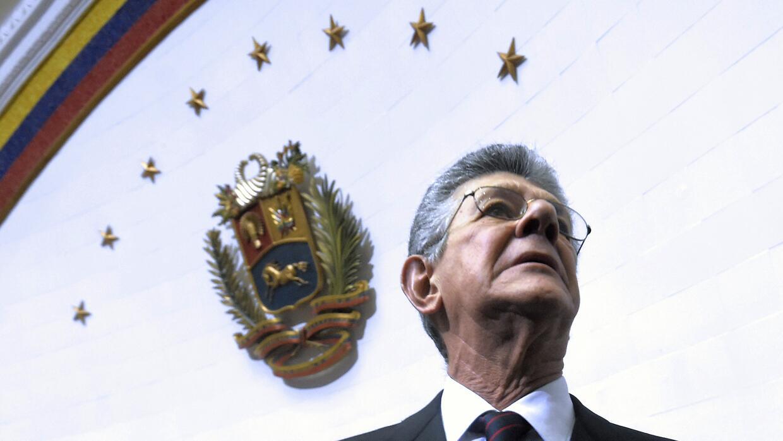 Presidente de la Asamblea Nacional de Venezuela, Henry Ramos Allup