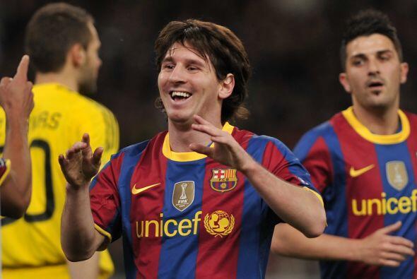 Lionel Messi amplió la ventaja al minuto 63.