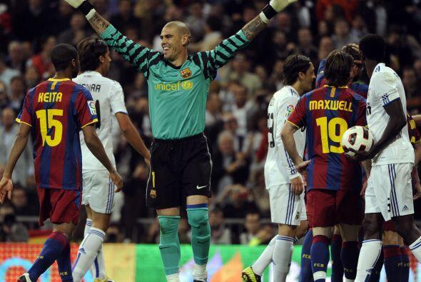 El resultado final fue celebrado por todos, principalmente por el Barcel...