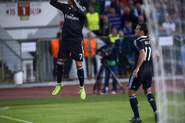 Real Madrid sufrió, pero venció 2-1 a Ludogorets con anota...