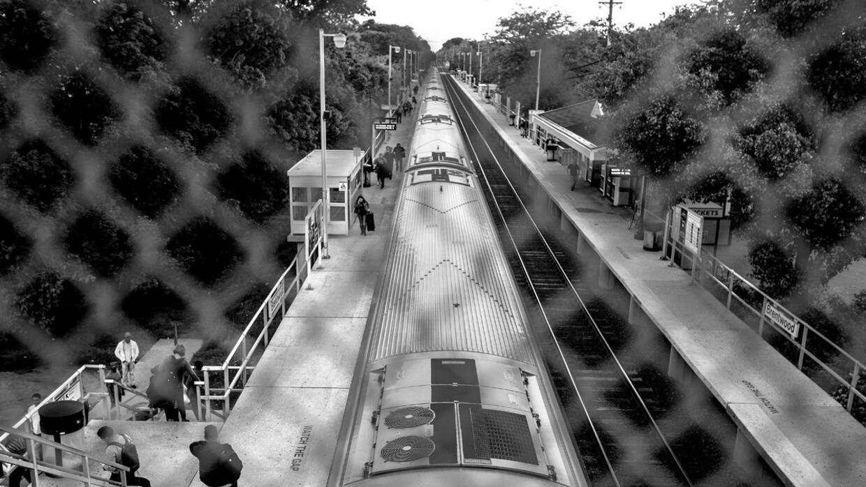La estación de Brentwood, Long Island, en Estados Unidos, es uno de los...
