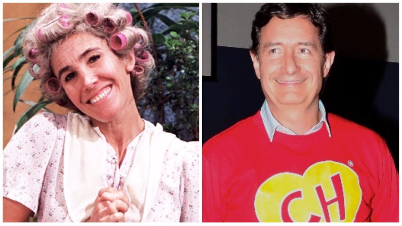 Florinda Meza y Roberto Gómez Fernández