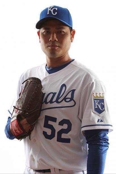 Mención especial par Bruce Chen. El lanzador panameño lanzó pelota de se...