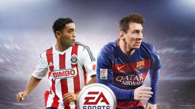 El jugador mexicano será la portada de FIFA16 en México