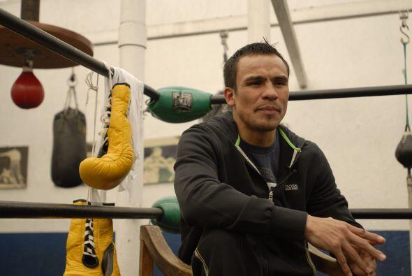 Márquez fue claro y abordó con confianza cada tema de su próximo combate...