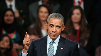 El expresidente Obama aseguró en su primer comunicado tras dejar la Casa...