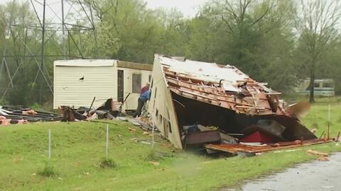 Al menos seis muertos dejan las fuertes tormentas que azotan el sureste...