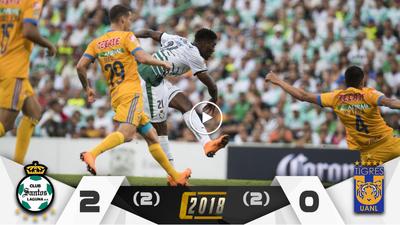 Con gol de Djaniny, Santos dejó en el camino a Tigres y ya piensa en las Águilas