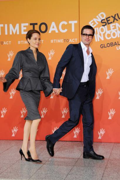 Aunque había rumores de que Brad siempre quiso casarse con Angelina y ha...