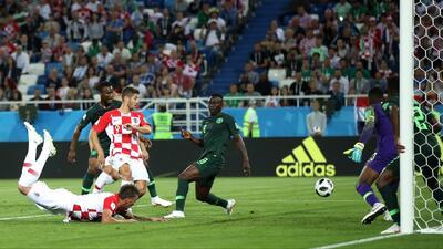 Revive con la magia de la tecnología el autogol con el que Croacia vence a Nigeria 1-0