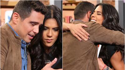 Alejandro Chabán le dio a Francisca una noticia que la puso muy feliz (fotos)