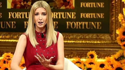 Ivanka Trump en el Fortune Most Powerful Women Summit 2016, en el Ritz-C...