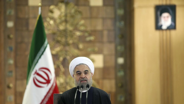 El presidente iraní Hassan Ruhan