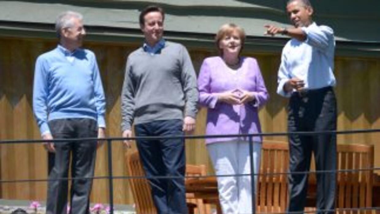 La crisis de la deuda europea dominó la cumbre del G8 que se celebra en...