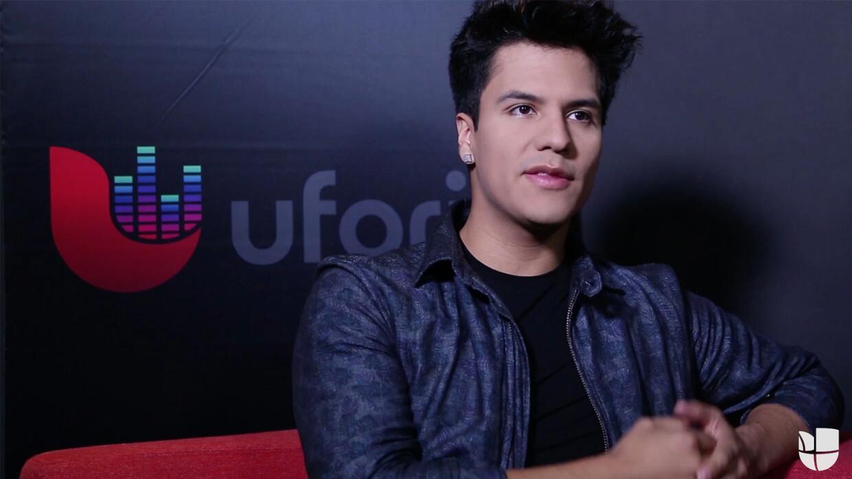 Luis Alberto Aguilera habla sobre su debut en esta entrevista con Uforia