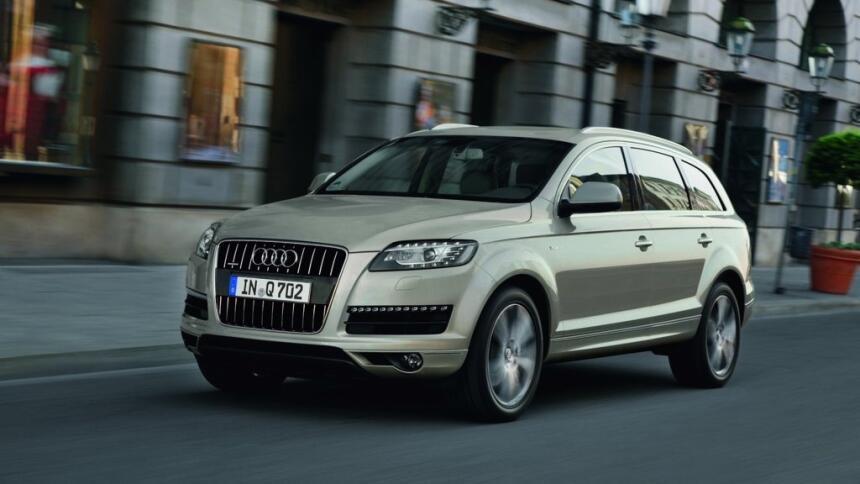 Estos son los autos con el índice de mortalidad más bajo en EEUU Audi-Q7...
