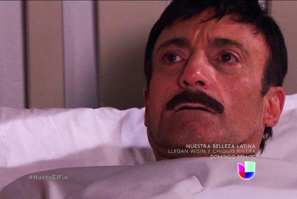 Así es don Javier, la mala vida ya le está pasando la factura.