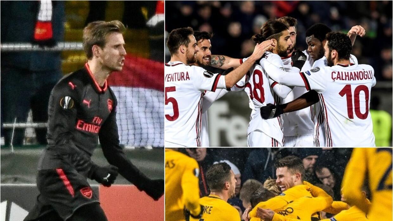 Resultados de los octavos de final de la Europa League 2017/2018 untitle...