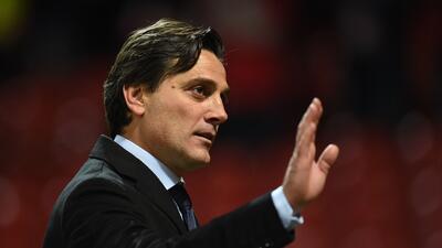 Vincenzo Montella, entrenador del Sevilla.