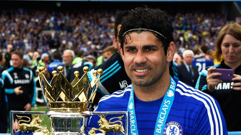 El delantero brasileño naturalizado español se dice feliz con el Chelsea.