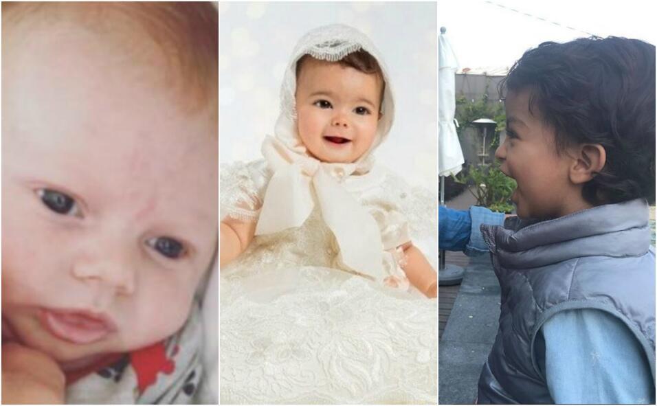 collage niños famosos