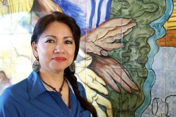 Maria Garza creció en una familia de trabajadores de inmigrantes en el s...