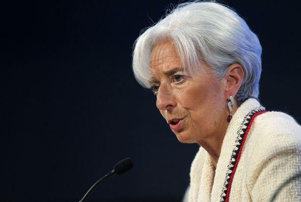 8. CHRISTINE LAGARDE. La primera directora del Fondo Monetario Internaci...