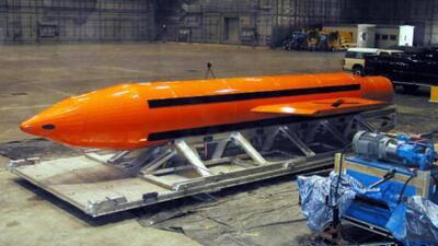 Video: Esta es la bomba que lanzó EEUU en Afganistán
