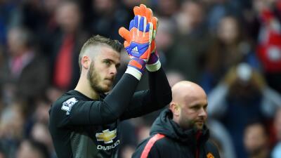 El portero español se despidió de Manchester ¿rumbo a Madrid?