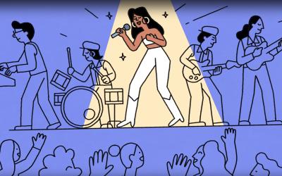 Google Doodle: Selena Quintanilla