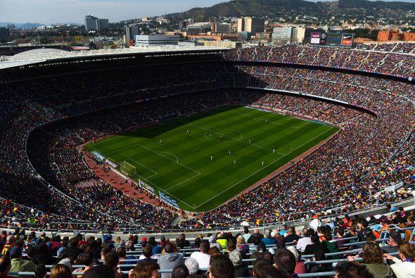 El Camp Nou presentó su mejor entrada de la actual campaña para ver a su...