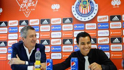 Omar Bravo agradeció a Jorge Vergara la oportunidad de poder triunfar en Chivas