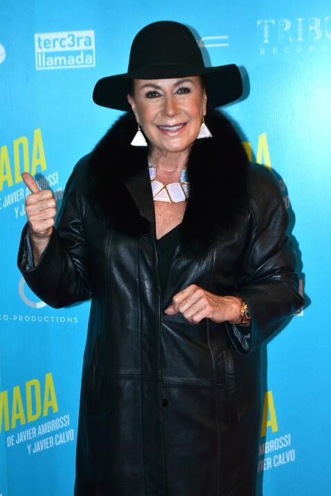 Laura Zapata acudió al estreno de la obra 'La llamada'