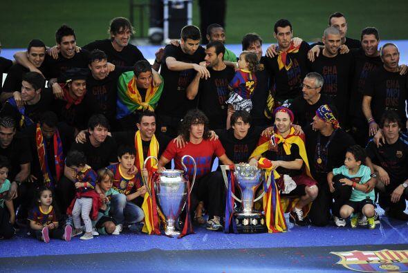 Así acabó todo el festejo de un Barcelona que lo hizo muy bien en este a...
