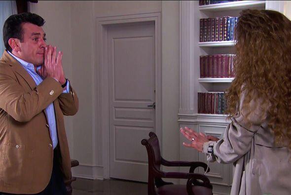 ¡Cálmate Fernando! Deja que Ana te explique todo. Ya verás que hay una m...