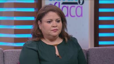 Olivia Calderón nos contó los detalles de porque se desmayó Carmen Rio en 'La Reina de la Canción'
