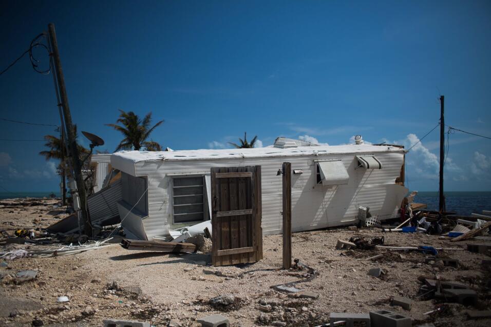 """""""El huracán vino y se lo llevó todo"""": de vivir en el paraíso de los Cayo..."""