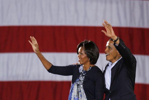 El presidente Barack Obama puso este domingo una dosis de energía a la c...