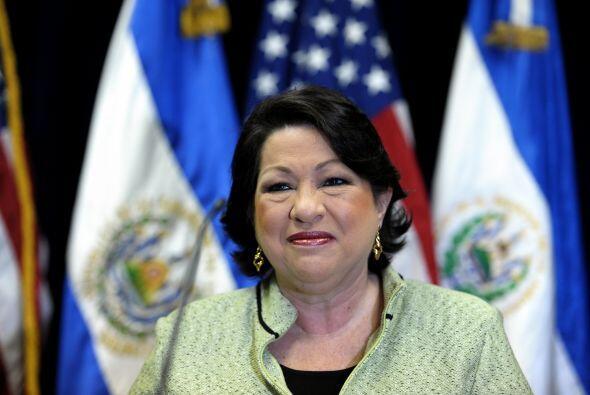 Sonia Sotomayor Juez del Tribunal Supremo de Estados Unidos. Greenfield-...