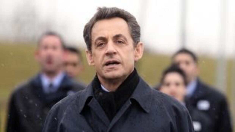 El expresidente francés, Nicolas Sarkozy fue detenido y está siendo inte...