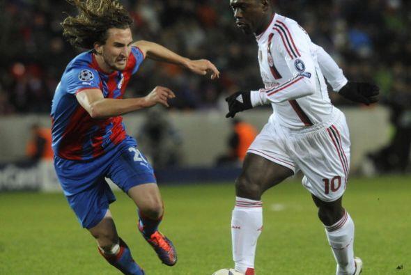 Milan visitó al Viktoria Plzen en busca de una victoria.