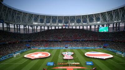 En fotos: Suiza y Costa Rica dividen los puntos en Nizhny Novgorod