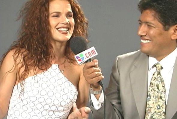 Su salto a la fama se dio tras conocer al productor Juan Osorio, con el...